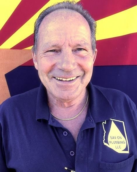 Tom - owner of sav-on plumbing in Glendale, AZ